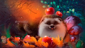 Hedgehogs in the Forest